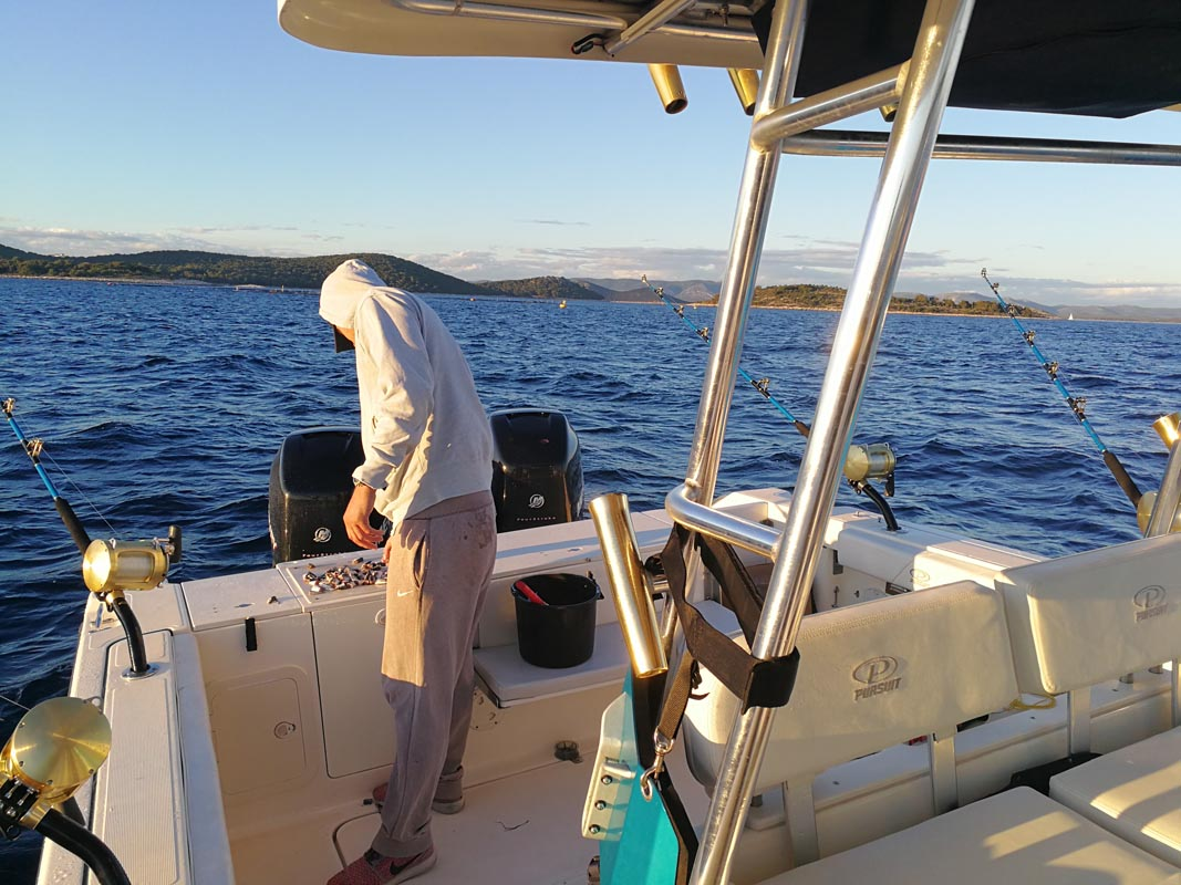 Offshore fishing Croatia - Taboo Pro Fishing Team Pakostane Dalmatia